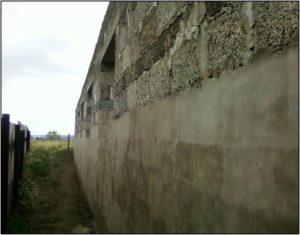 Оштукатуривание стен из арболита снаружи